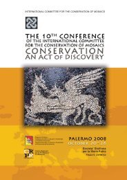 international committee for the conservation of mosaics - Centro ...