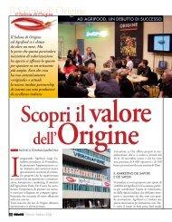 Il Salone di Origine e i suoi partner - L'Informatore Agrario