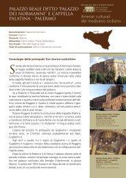 Itinerari culturali del medioevo siciliano - ICCD - Ministero per i Beni ...