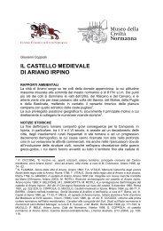 il castello medievale di ariano irpino - Museo della Civiltà Normanna