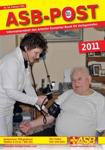 Informationsblatt des Arbeiter-Samariter-Bund OV Heiligenhafen d ...