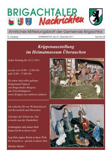 Krippenausstellung im Heimatmuseum Überauchen - Gemeinde ...