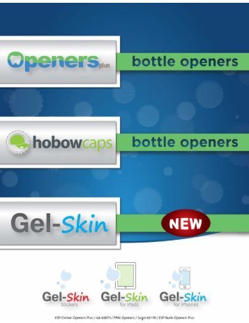 to download catalog - Openers Plus