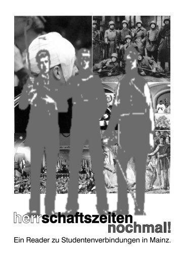 Herrschaftszeiten nochmal - die antifa an der uni heidelberg