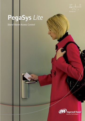 PegaSys Lite - Ingersoll Rand Security Technologies