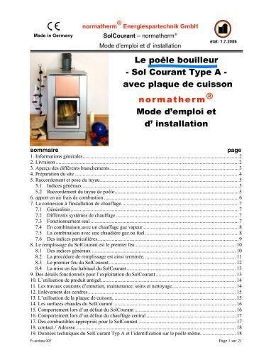 Fr notice d 39 emploi et d 39 installation de la table de cuisson electriqu - Installer plaque de cuisson ...