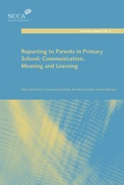 Reporting to Parents in Primary School: Communication, Meaning ...