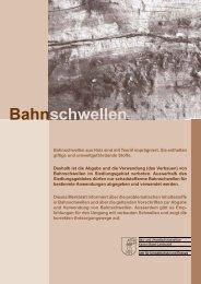 [PDF] BL: Bahnschwellen - Abfall.ch