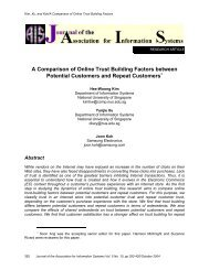 A Comparison of Online Trust Building Factors between Potential ...
