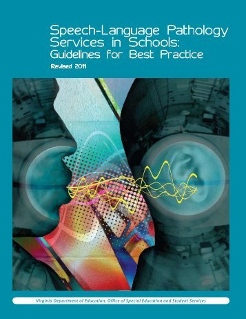 Speech-Language Pathology Services in Schools: - Virginia ...