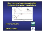 Norm-conserving pseudopotentials in electronic structure ...