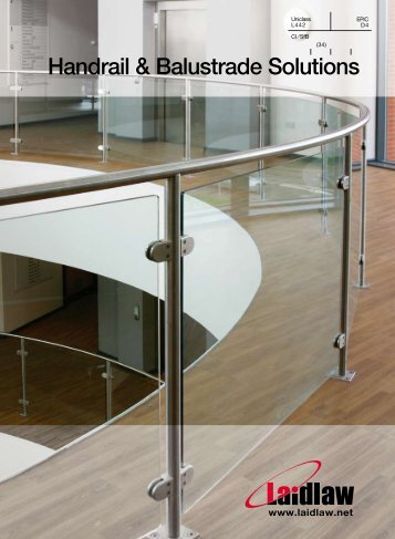 Handrail & Balustrade Solutions - RIBA Product Selector