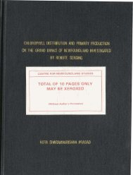 1 total of 10 pages only may be xeroxed - Memorial University's ...