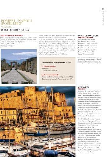 POMPEI - NAPOLI (POSILLIPO) - prestige italy gold