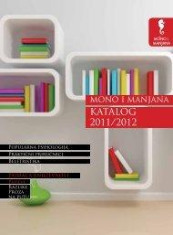katalog 2011/2012 - Mono i manjana