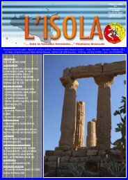 L'Isola gennaio febbraio 2011 - L'Altra Sicilia