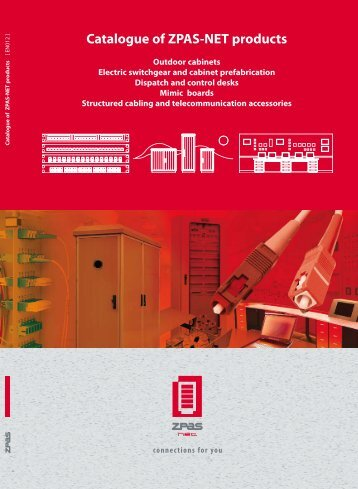 Catalogue of ZPAS-NET products 2012 - DataRoom Solutions