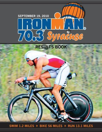 RESULTS BOOK - IRONMAN.com