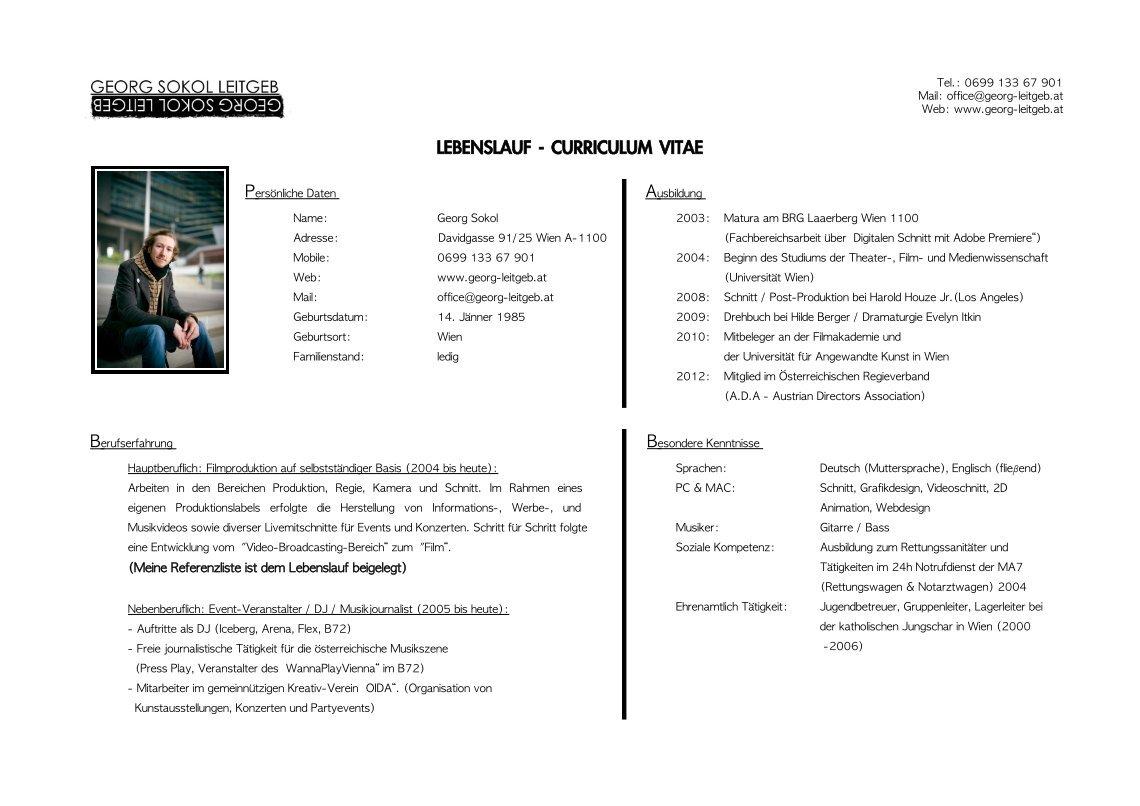 Gemütlich Zweisprachig Im Lebenslauf Fotos - Entry Level Resume ...