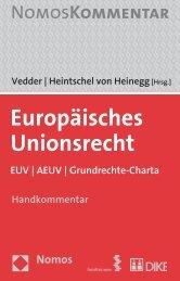 Europäisches Unionsrecht - Zum Nomos-Shop