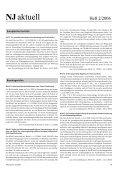Ganzes Heft zum Download - Neue Justiz - Nomos - Page 4