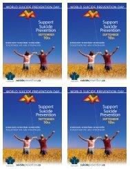CASP postcard - Suicide Prevention