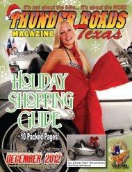 December 2012 - Thunder Roads Texas Motorcycle Magazine