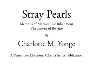 Stray Pearls - Pennsylvania State University