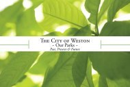Parks Brochure opt-2.indd - City of Weston