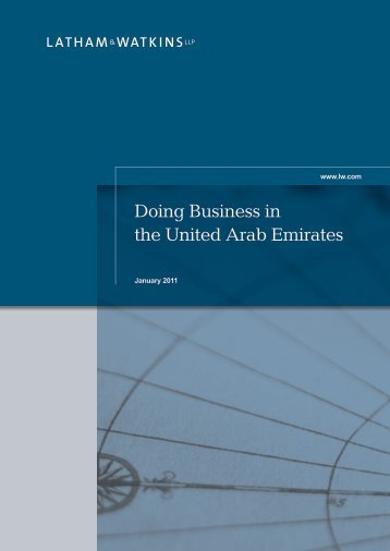 Doing Business in the United Arab Emirates - Latham & Watkins