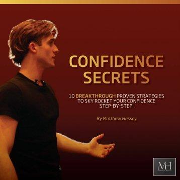 Confidence Secrets.pdf - Matthew Hussey