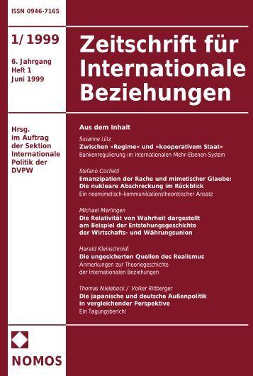 Das ganze Heft als PDF-Datei - Zeitschrift für Internationale ...