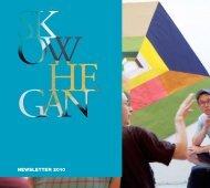 NEWSLETTER 2010 - Skowhegan School of Painting and Sculpture