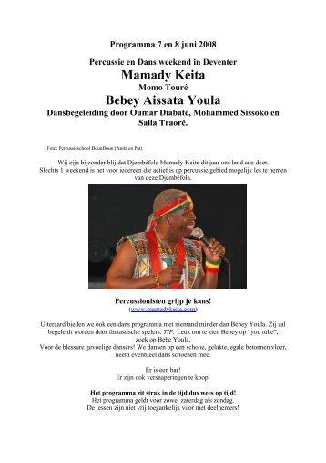 Mamady Keita Bebey Aissata Youla - Bebey Aissata Youla - Africa ...