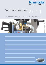 Proizvodni program - Kränzle