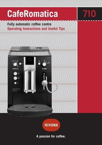 CafeRomatica 710 (PDF) - Nivona