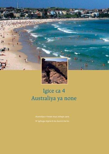 Our Common Bond – Kirundi - Australian Citizenship