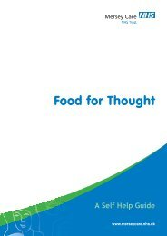 Food for Thought - Mersey Care NHS Trust