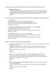 Spis publikacji w 2011 r. - INSTYTUT GENETYKI CZŁOWIEKA PAN ...