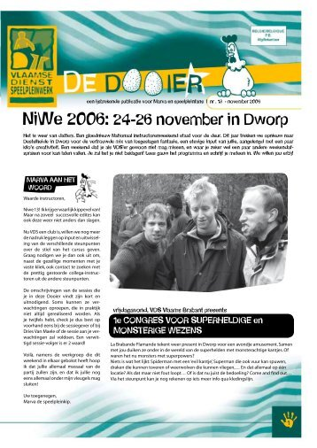 NiWe 2006: 24-26 november in Dworp