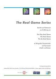 The Real Game Series - Partner:Schule-Wirtschaft