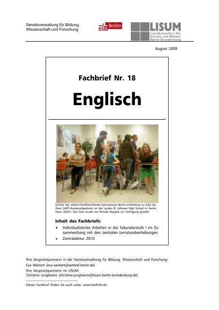 Materialien zum selbstständigen standardorientierten lernen in der gymnasialen oberstufe englisch