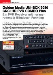 Golden Media UNI-BOX 9080 CRCI HD - TELE-satellite ...