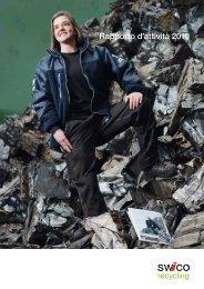 Rapporto d'attività 2010 - SWICO Recycling