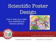 Scientific Poster Design