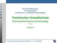 Präsentation (PDF, 2,4 MB) - Allgemeine Studienberatung an der TU ...