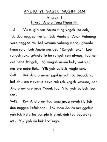Buang Central Bible - Genesis 1.pdf - GospelGo