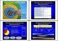 Highlights ASCO 2009