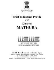 MATHURA - Dc Msme