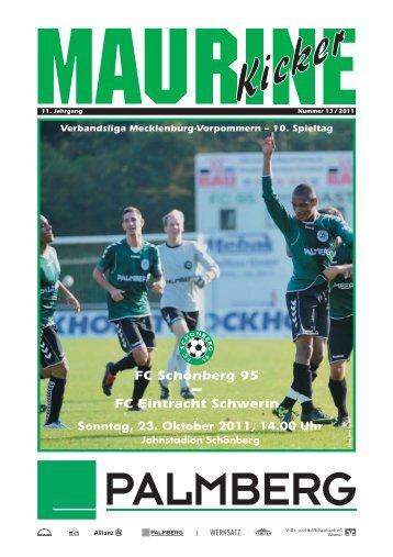 Maurine-Kicker 13/2011 - FC Schönberg 95